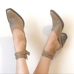 Old Gringo • Evangelina Shoes in Tan/Bone